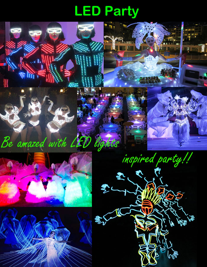 LED-Party
